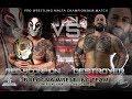 Red Scorpion (c) Vs Drake Destroyer - Pro Wrestling Malta Championship Match