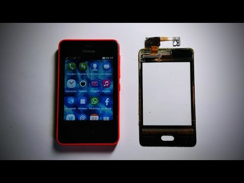 Nokia Asha 501 RM-902 Замена тачскрина