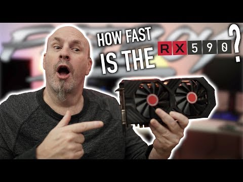 How Fast Is The XFX RX 590 Fatboy?