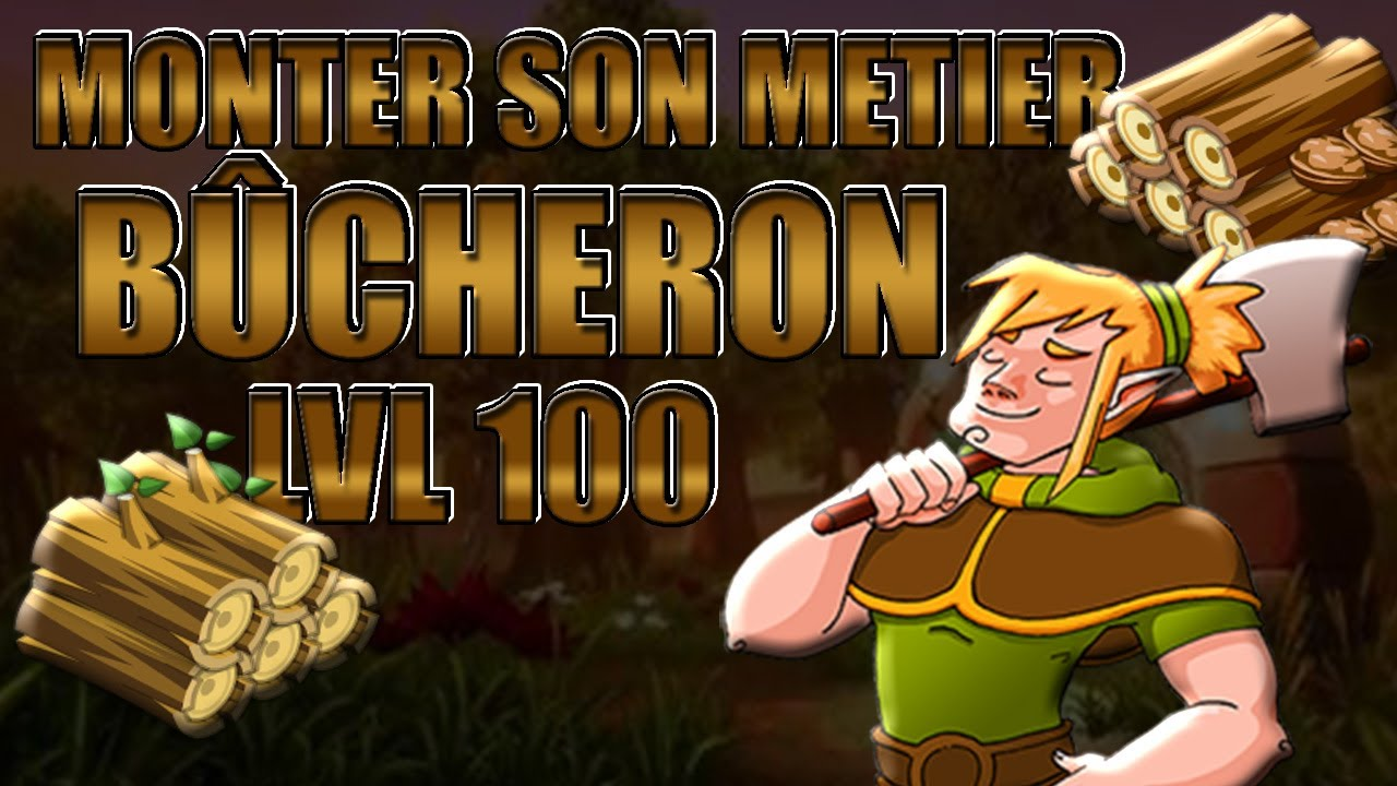 Dofus 1 29 Monter Son Metier Bucheron Lvl 100 Rapidement Youtube