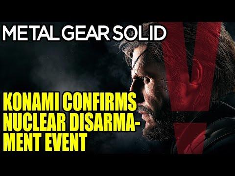 Konami Confirms MGS 5 Phantom Pain Secret Nuclear Disarmament Event