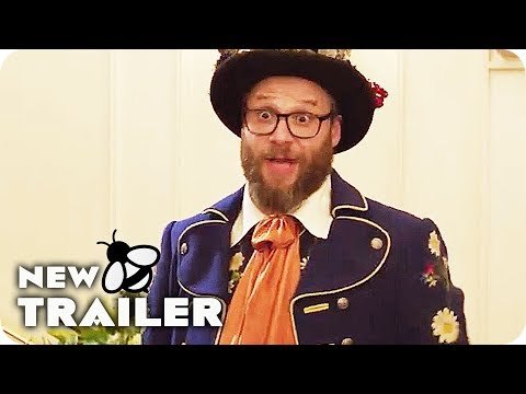 LONG SHOT Trailer 2 (2019) Seth Rogen, Charlize Theron Comedy Movie