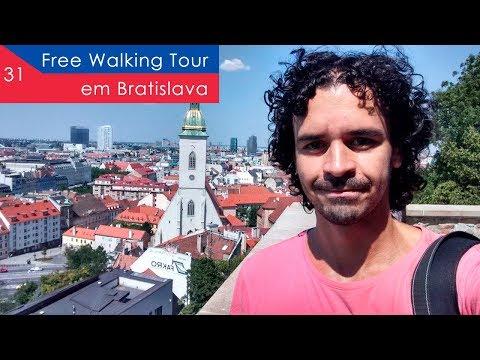 Free Walking Tour em Bratislava - EP 31