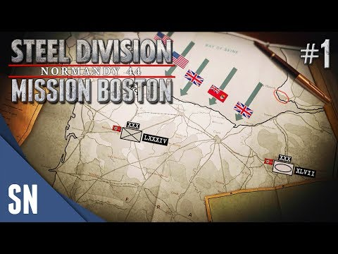 Mission 1: Hedgerow Hell - Steel Division: Normandy 44 Campaign: Mission Boston