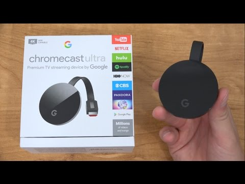 Chromecast Ultra Unboxing and Setup: 4K Streaming!