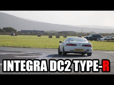 98 HONDA INTEGRA DC2 TYPE-R @ JURBY TRACK
