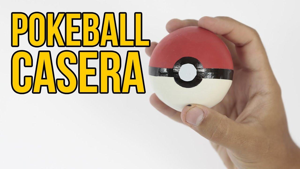 Resultado de imagen de pokebola hecha con una pelota de tenis y globos