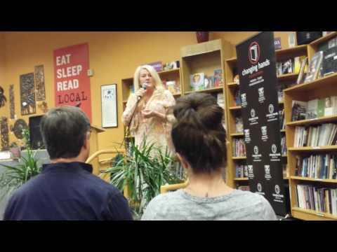 "Sarah McLean ""The Power of Attention"" at Changing Hands bookstore Tempe, Arizona USA 4 20 17"