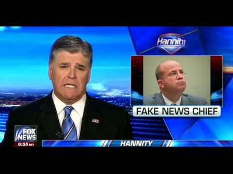 Sean Hannity Destroys #FakeNews CNN Chief Jeff Zucker