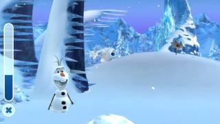 Frozen Olaf's Adventures - Winter 2014 - Snow Flakes Collection Disney App