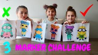 3 Marker Challenge!