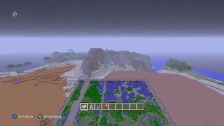 Minecraft Xbox One/PS4 Large Seed - Amazing Mesa Biomes, Ice Spike Biome, 3 Sea Monuments