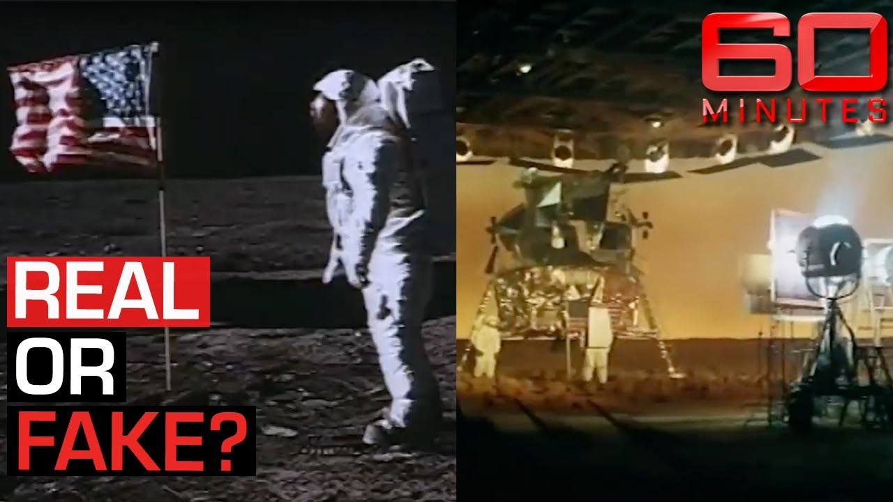 Inside the moon landing conspiracy: Was it real or fake? | 60 Minutes Australia