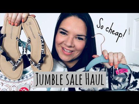 Jumble Sale Haul! So Cheap ❤️
