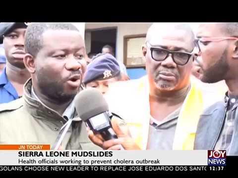Sierra Leone Mudslides - Joy News Today (24-8-17)