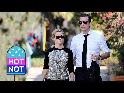 Reese Witherspoon and Husband Jim Toth Coordinate Outfits in LA