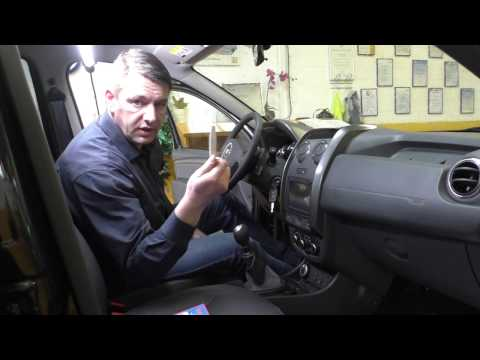 i-sotec isoamp 5D Montagehilfe Dacia Duster