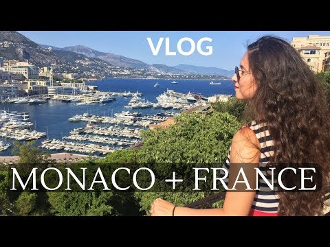 MONACO & SOUTHERN FRANCE Vlog | Lost Castle, Michelin Restaurant | TRAVEL | Dilya London