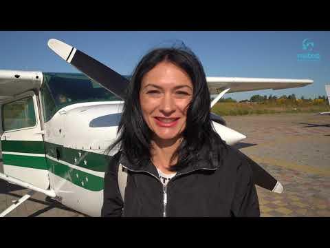 Полет за штурвалом самолета Cessna 172 Киев