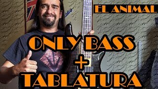 El Animal - Caifanes - Only Bass + Tablatura