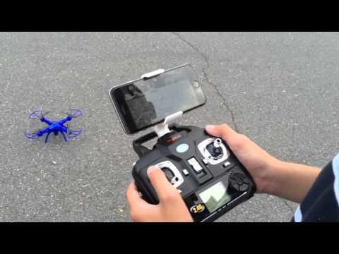 Syma X5SW Explorers2, 6-Axis Gyro RC Headless Quadcopter, 2MP Wifi Camera (FPV)