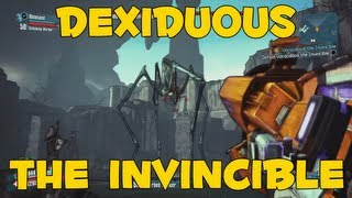 Borderlands 2: NEW Raid Boss - DEXIDUOUS THE INVINCIBLE (DLC Gameplay)