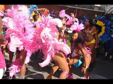 Antigua And Barbuda Carnival 2015 - The Parade