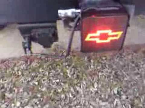 Chevy Silverado Hitch Cover Brake Light Youtube