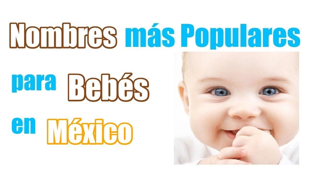 Nombres De Ninos Mexicanos Modernos