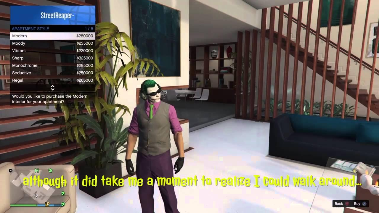 GTA V Online All Custom Apartments Interior Options ...