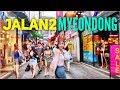 JALAN2 MYEONGDONG! Shopping, Cafe ADEM &WEBTOON HITS KOREA!