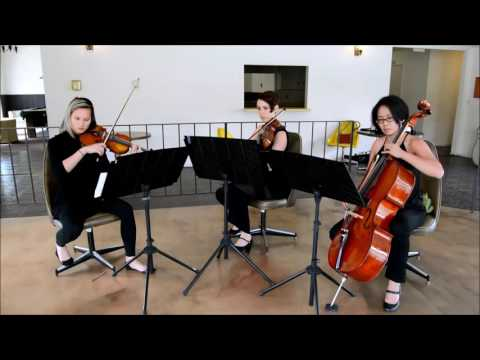 Thinking Out Loud Ed Sheeran String Trio By The Ocdamia Strings