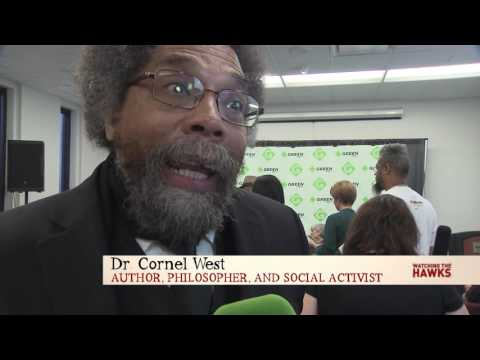 At the Green Party Convention w/ Dr. Cornel West