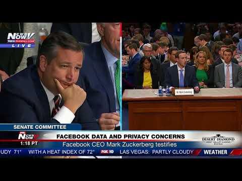 TED CRUZ GRILLING: Facebook CEO Mark Zuckerberg Under Fire