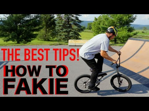 How To Fakie BMX!