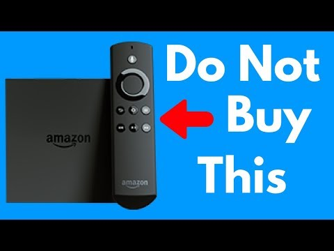 Do Not Buy The Amazon Fire TV