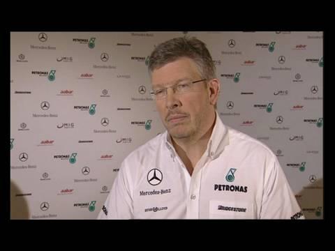 Mercedes GP F1-Team: Interview mit Teamchef Ross Brawn