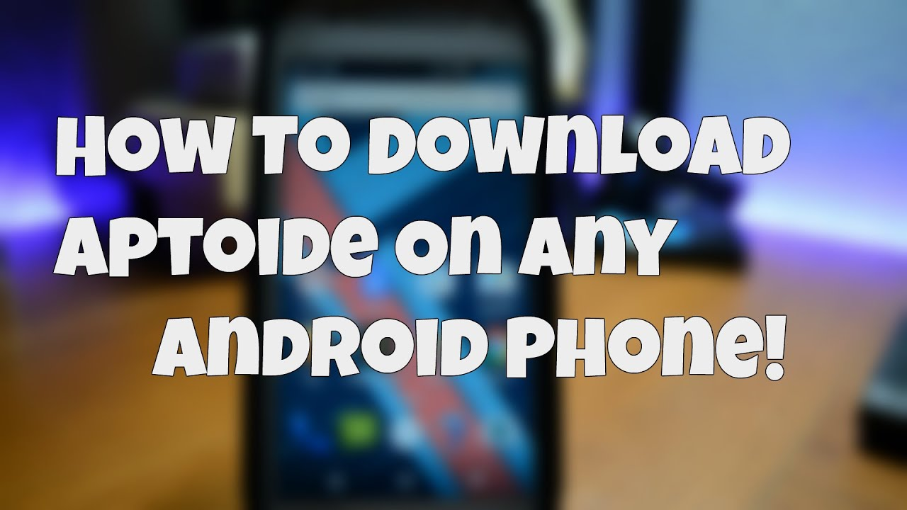 How To Download Aptoide On Any Android Phone!  #Smartphone #Android