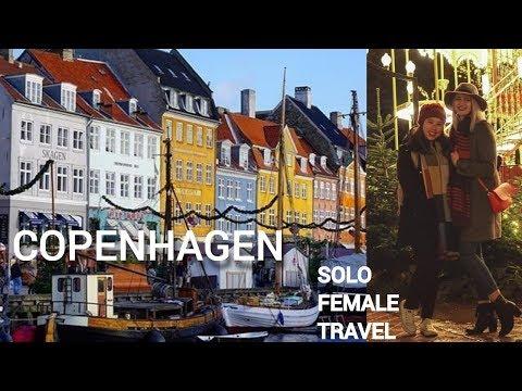 Falling for Copenhagen - Solo Female Travel Vlog