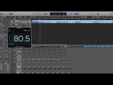 BPM Counter Logic Pro X