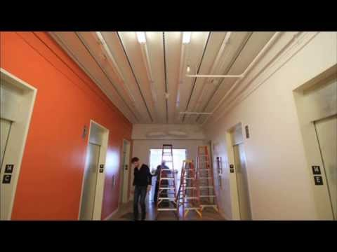 Time Lapse of Kinetic Ceiling Install in San Francisco