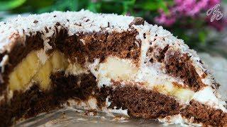 Вкусный и Нежный Торт Без Выпечки за 10 Минут! Реально? Да!