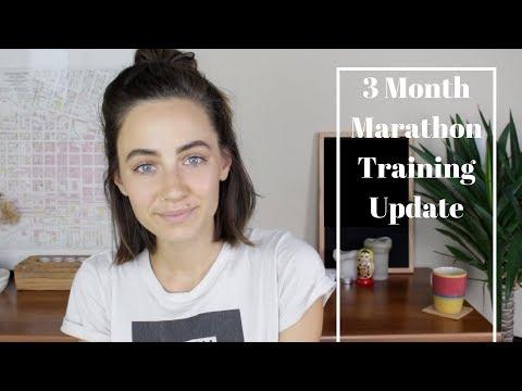 3 Month Marathon Training Update