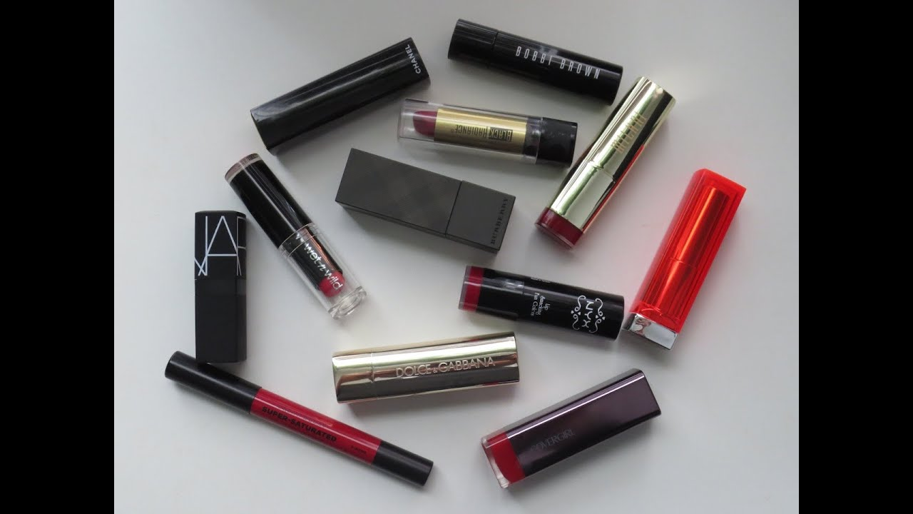 Top 5: Red Lipsticks (Drugstore & High End!)