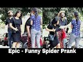 Comedy spider Prank on Cute girls | Pranks in INDIA 2018