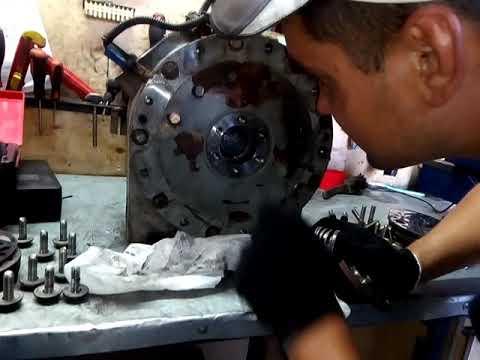 Разборка компрессора 05к от Carrier Maxima 1300