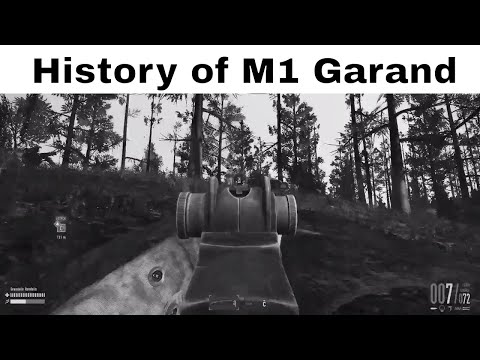 History of M1 Garand | U.S Service Semi-automatic Rifle | Heroes and Generals