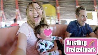 Große Überraschung 😍 Achterbahn Spaß mit der Familie | Ausflug Freizeitpark VLOG | Mamiseelen