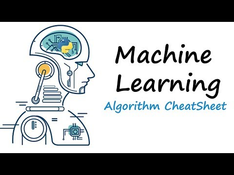 Machine Learning Tutorial Part 9 | Algorithm CheatSheet - Python Machine Learning For Beginners