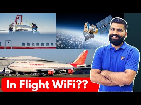 WiFi on Aeroplanes? How's it Possible?? In Flight WiFi Explained